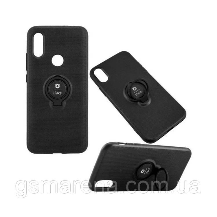 Чехол силиконовый iFace 3in1 Samsung A6 (2018) A600 Черный