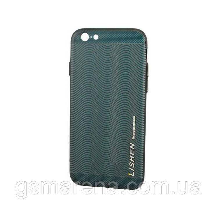 Чехол силиконовый Lishen Leather Texture Apple iPhone 6 wave