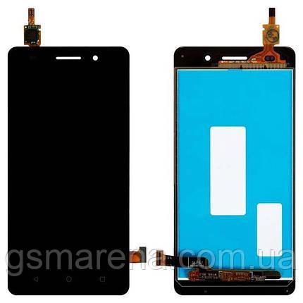 Дисплей модуль Huawei G Play Mini Dual SIM (CHC-U01) Черный, фото 2