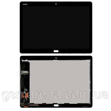 Дисплей модуль Huawei MediaPad M3 Lite (10) LTE (BAH-L09) Черный, фото 2