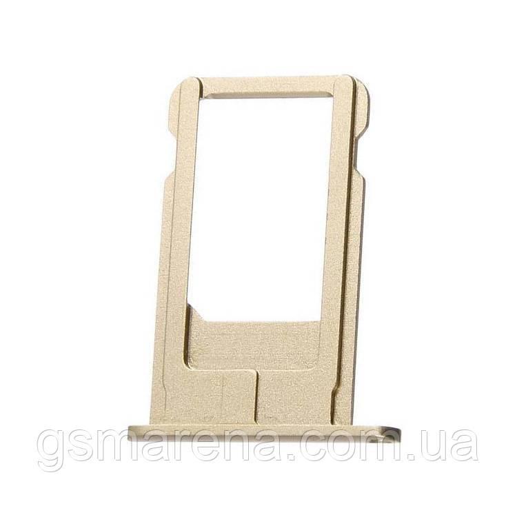 Сим держатель SIM холдер Apple iPhone 6 Plus Sim-Card holder Золотой