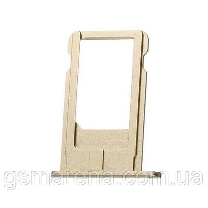 Сим держатель SIM холдер Apple iPhone 6 Plus Sim-Card holder Золотой, фото 2