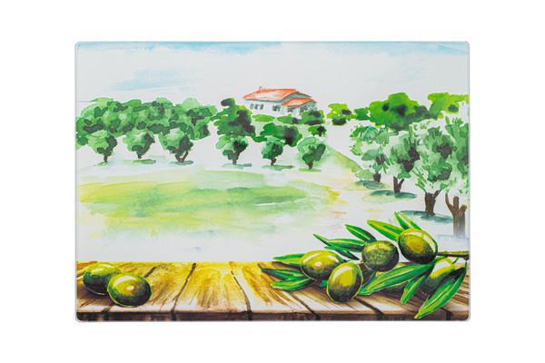 Доска разделочная VIVA OLIVES & TREES  (C3235C-A7)