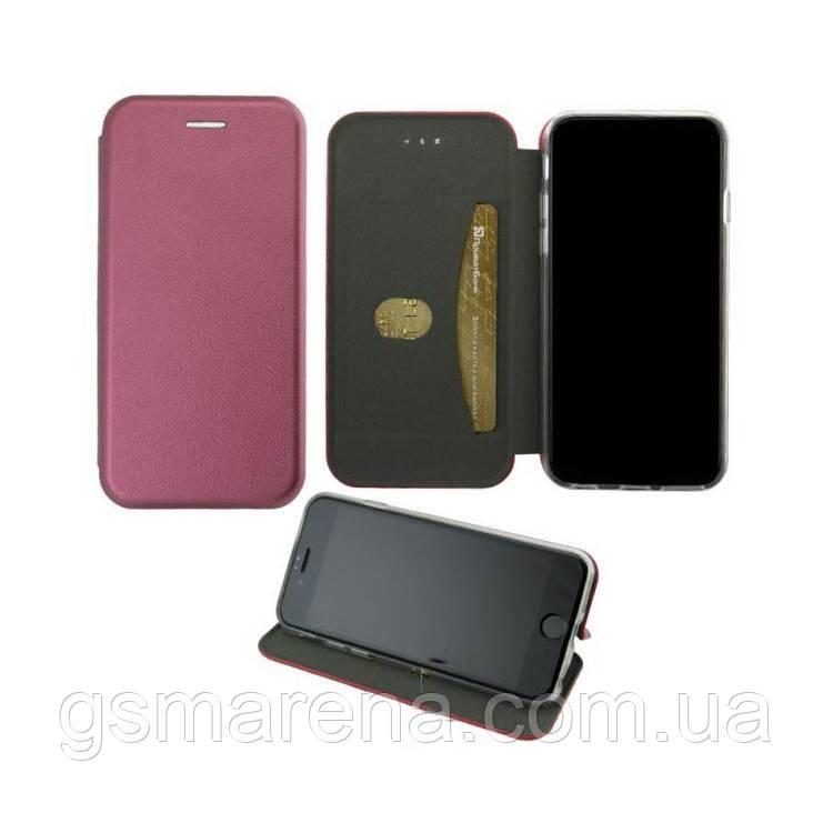 Чехол книжка Elite Case Samsung M20 (2019) M205 Бордовый