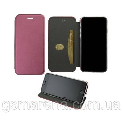 Чехол книжка Elite Case Samsung M20 (2019) M205 Бордовый, фото 2