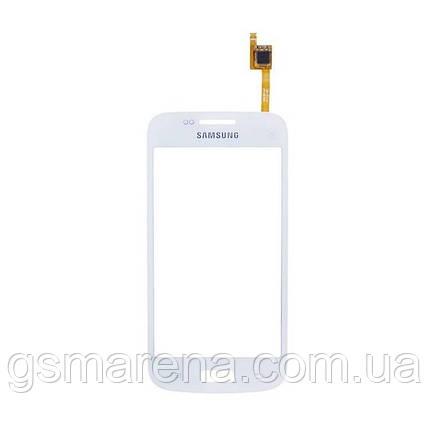 Тачскрин сенсор Samsung G3502, G3502i, G3502U, G3508, G3509 Trend 3 Белый, фото 2