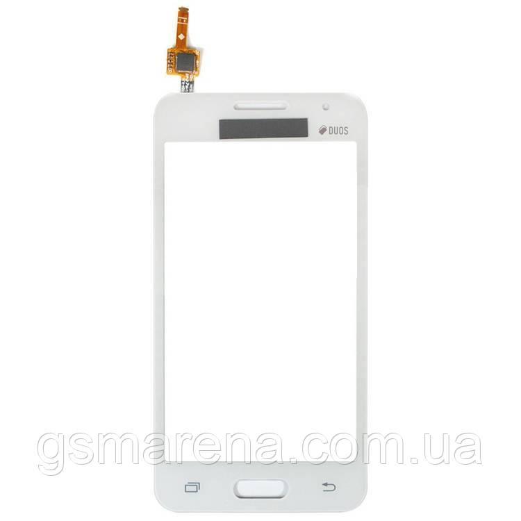 Тачскрин сенсор Samsung G355h Core 2 Белый Оригинал