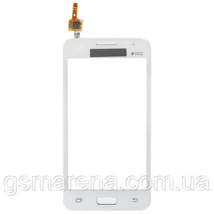 Тачскрин сенсор Samsung G355h Core 2 Белый Оригинал, фото 2