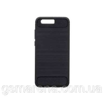Чехол силиконовый Polished Carbon Huawei Honor 9 Черный, фото 2