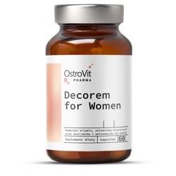 Витамины для женщин Ostrovit decorem for women женская формула Островит Цинк, биотин