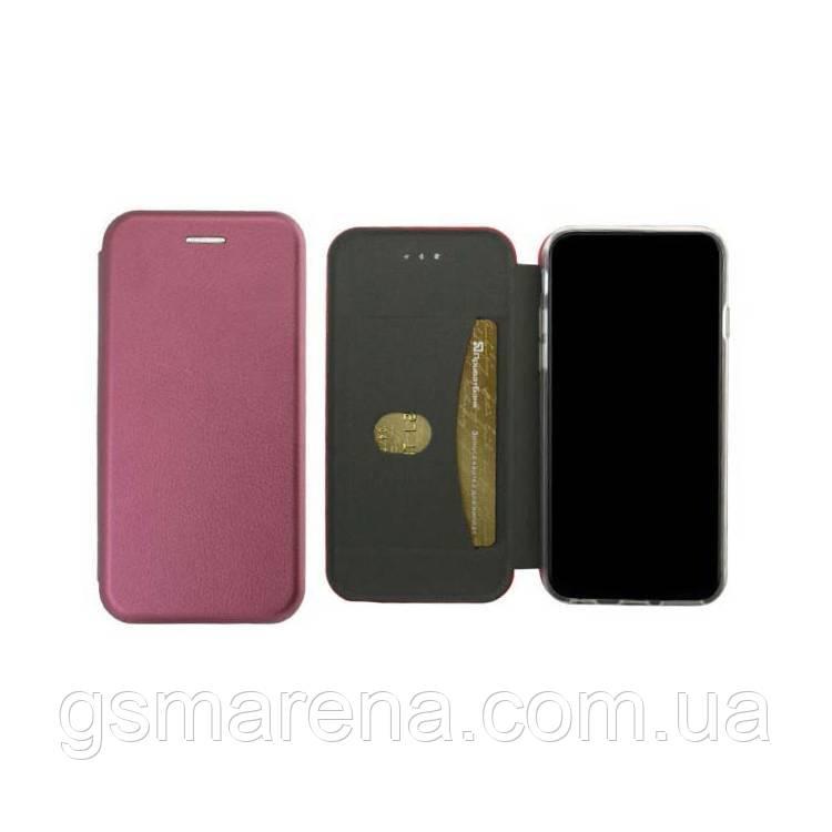 Чехол книжка Elite Case Samsung S9 Plus G965 Бордовый