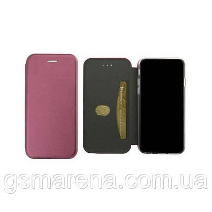 Чехол книжка Elite Case Samsung S9 Plus G965 Бордовый, фото 2