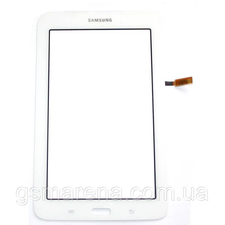 Тачскрин сенсор Samsung T110 Tab 3 Lite, T113 Tab 3 Lite, T115 Белый Оригинал