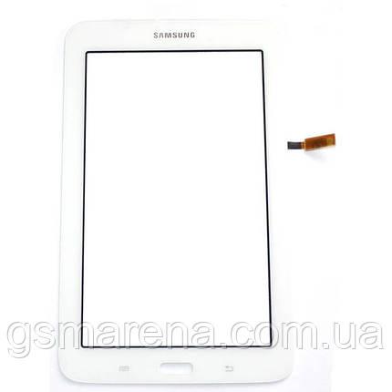 Тачскрин сенсор Samsung T110 Tab 3 Lite, T113 Tab 3 Lite, T115 Белый Оригинал, фото 2