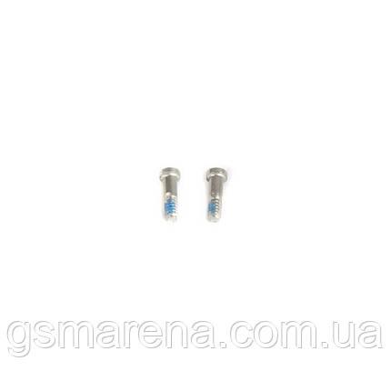 Винтики Apple iPhone 7, iPhone 7 Plus screws set 2psc Серый, фото 2