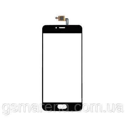 Тачскрин сенсор Meizu M5S Черный, фото 2