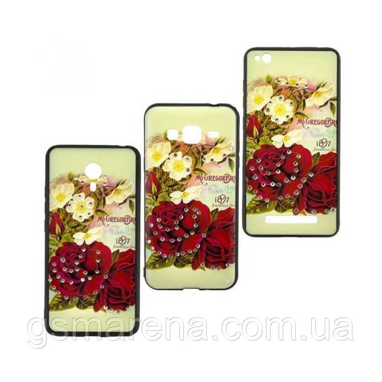 Чехол накладка Flower Case Apple iPhone 7 Mc.Gregor Rose