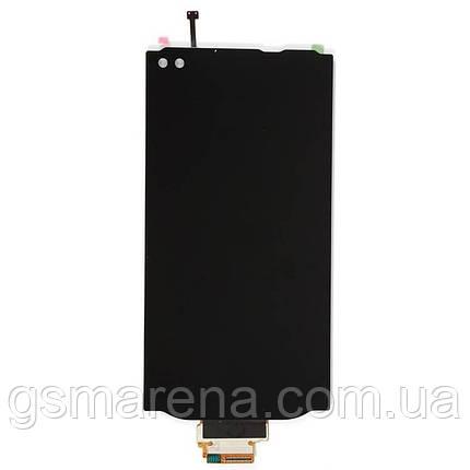 Дисплей модуль LG H900 V10, H901, H961, H962, H968, VS990 Черный, фото 2