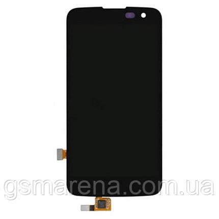 Дисплей модуль LG K120E K4 LTE, K121, K100DS Черный, фото 2