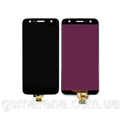 Дисплей модуль LG M320 K10 X Power 2, M322, M327, X320, X500 Черный, фото 2