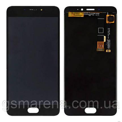 Дисплей модуль Meizu M1E Черный, фото 2
