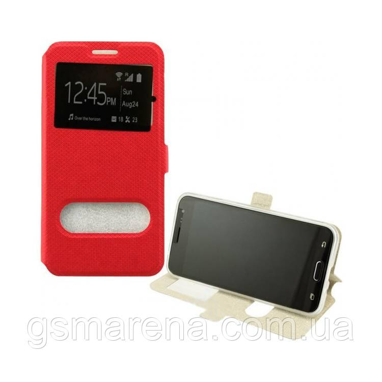 Чехол книжка Modern (2 окна) Huawei Mate 20 Lite Красный