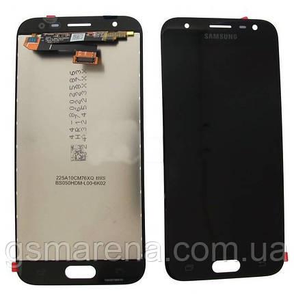 Дисплей модуль Samsung J330F J3 (2017) Черный (Сервисный модуль), фото 2