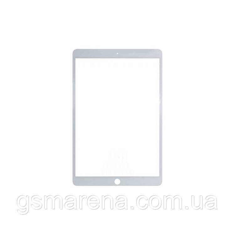 Стекло дисплея для переклейки Apple iPad Pro 10.5 (2017) Белый
