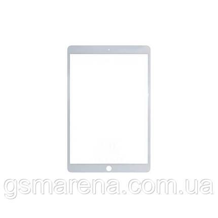 Стекло дисплея для переклейки Apple iPad Pro 10.5 (2017) Белый, фото 2