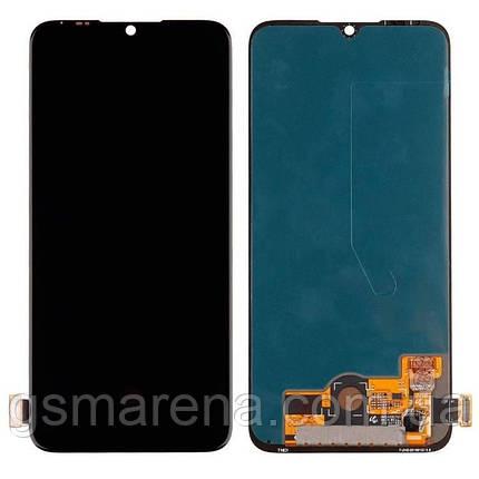 Дисплей модуль Xiaomi Redmi Mi A3 Черный OLED, фото 2