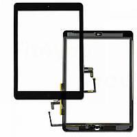 Тачскрин сенсор Apple iPad Air (iPad 5) с кнопкой Home Черный Оригинал