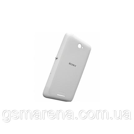Задняя часть корпуса Sony E2104 Xperia E4, E2105, E2115, E2124 Белый, фото 2