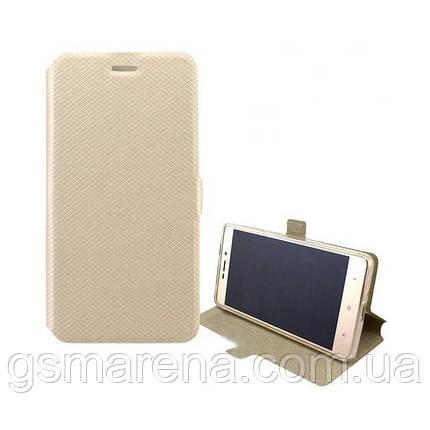 Чехол книжка Modern (без окна) Asus ZenFone 3 Delux DC570KL Золотой, фото 2