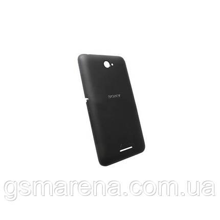 Задняя часть корпуса Sony E2104 Xperia E4, E2105, E2115, E2124 Черный, фото 2