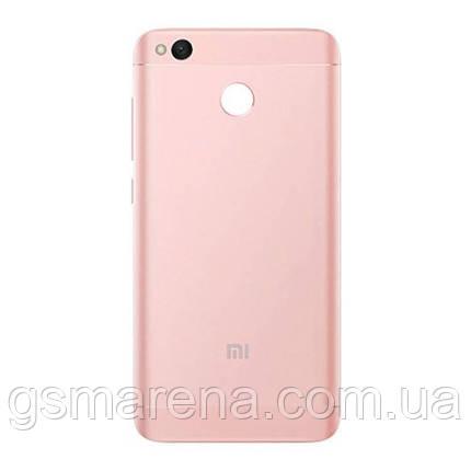 Задняя часть корпуса Xiaomi Redmi 4X Розовый, фото 2