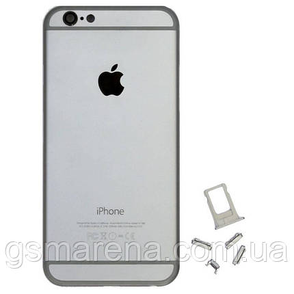 Задняя часть корпуса Apple iPhone 6 space-Серый, фото 2