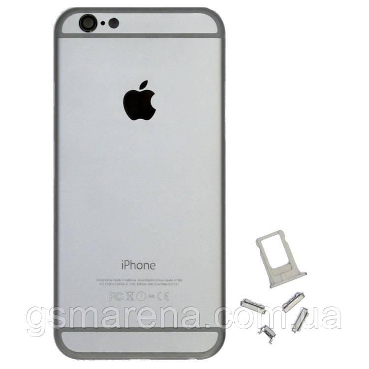 Задняя часть корпуса Apple iPhone 6 space-Серый
