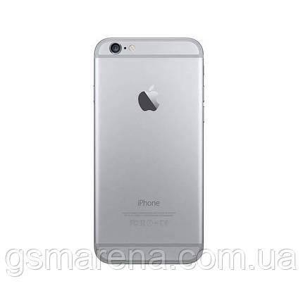 Задняя часть корпуса Apple iPhone 6 Серый, фото 2