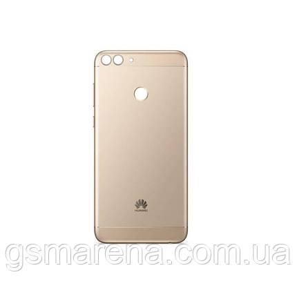 Задняя часть корпуса Huawei P Smart Золотой, фото 2