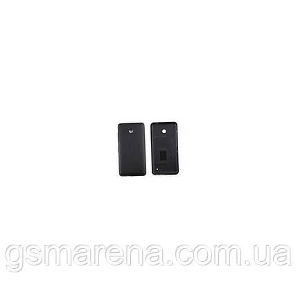 Задняя часть корпуса Nokia Lumia 630, 635 Черный, фото 2