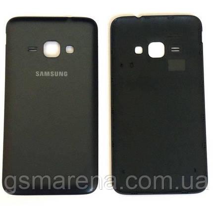 Задняя часть корпуса Samsung J120 J1 (2016) Черный Оригинал, фото 2