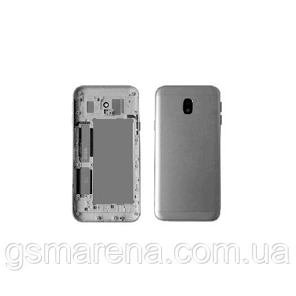 Задняя часть корпуса Samsung J330F J3 (2017) Серый, фото 2
