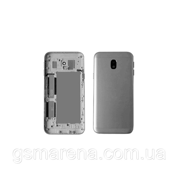 Задняя часть корпуса Samsung J330F J3 (2017) Серый