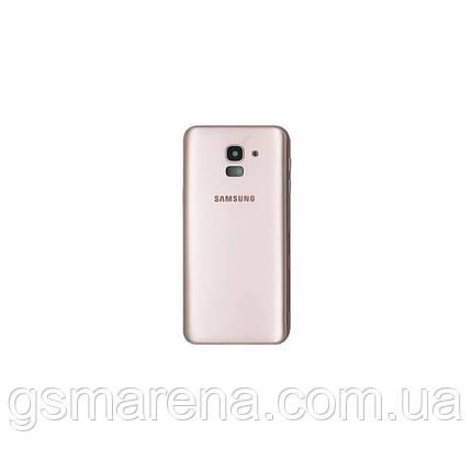 Задняя часть корпуса Samsung J600 J6 (2018) Золотой, фото 2
