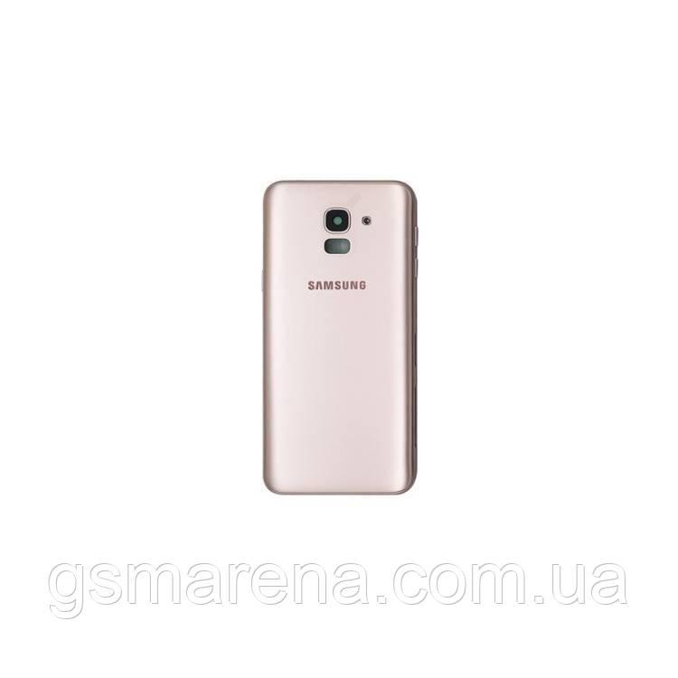 Задняя часть корпуса Samsung J600 J6 (2018) Золотой