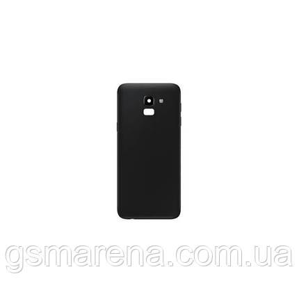 Задняя часть корпуса Samsung J600 J6 (2018) Черный, фото 2