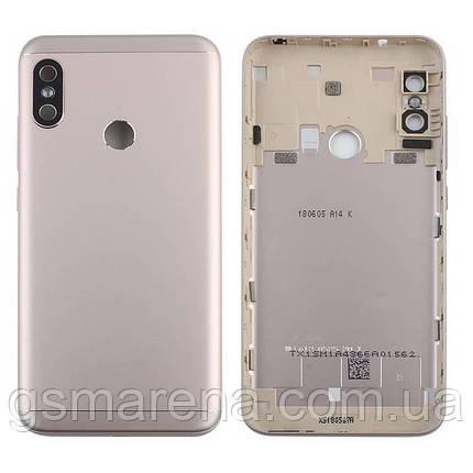 Задняя часть корпуса Xiaomi Redmi Mi A2 Lite, Redmi 6 Pro Золотой, фото 2