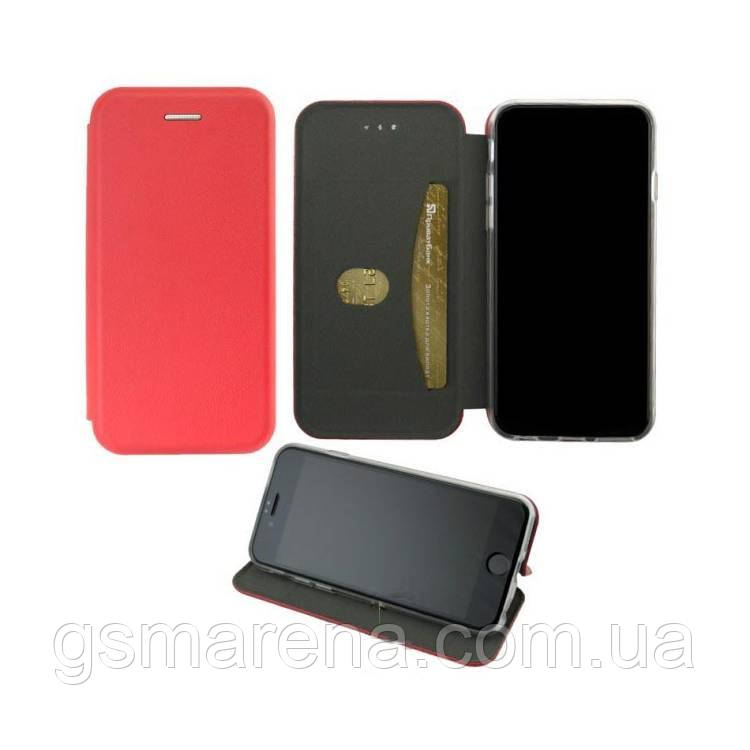 Чехол книжка Elite Case Samsung A40 (2019) A405 Красный
