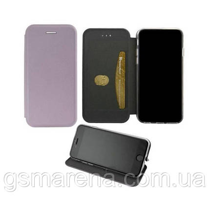 Чехол книжка Elite Case Samsung A40 (2019) A405 Серый, фото 2