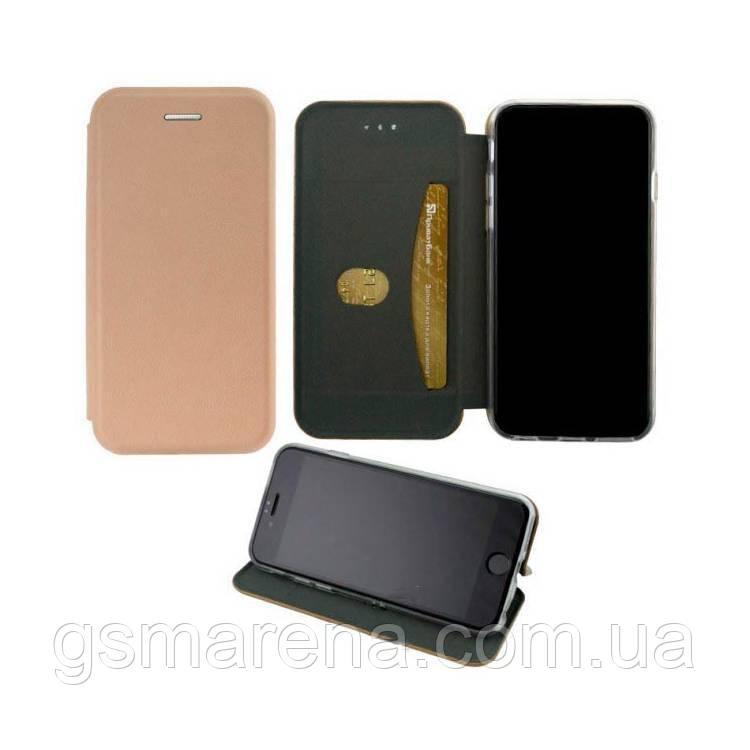 Чехол книжка Elite Case Samsung A50 (2019) A505 розово-Золотой